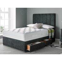 Giltedge beds comfort 1000 4ft 6 double divan bed