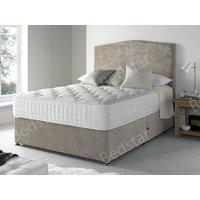 Giltedge beds cranwell 1500 5ft kingsize divan bed