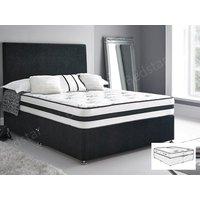 Giltedge beds mayfair zip & link 6ft superking divan bed