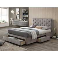Limelight beds monet fabric bed,mink