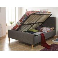 Milan Bed Company Ashbourne 4FT 6 Double Ottoman Bed