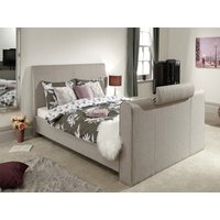 Milan Bed Company Brooklyn TV Bed,Light Grey