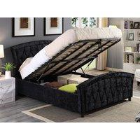 Harmony Beds Balmoral 5FT Kingsize Ottoman Bed,Black