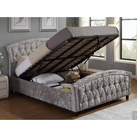 Harmony Beds Balmoral Ottoman Bed,Silver