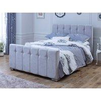 Divine Sleigh 5FT Kingsize Fabric Bedframe