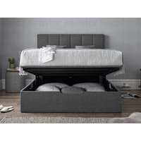 Mw kaydian design nova ottoman bed,dark grey