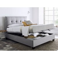 Kaydian design walkworth 6ft superking ottoman bed,marbella grey