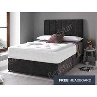 Giltedge Beds Balmoral 5FT Kingsize Divan Bed,Free Headboard