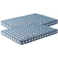 2 x Star-Ultimate Value Bunk Bed 3FT Single Mattress