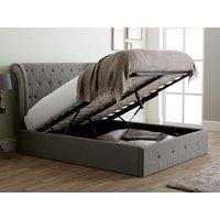 Limelight beds epsilon 6ft superking ottoman bed,grey