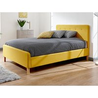 Milan bed company ashbourne fabric,yellow