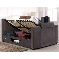 Flair juliet ottoman tv bed,grey
