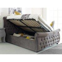 Flair lucinda ottoman bed,grey