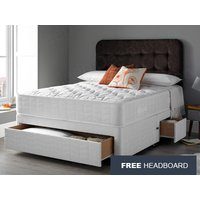 Giltedge Beds Orthocare 3FT Single Divan Bed,Free Headboard