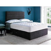 Giltedge beds platinum 2000 4ft small double divan bed