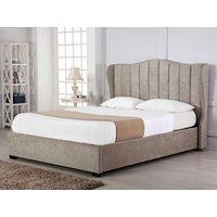 Emporia sherwood 5ft kingsize ottoman bed,stone