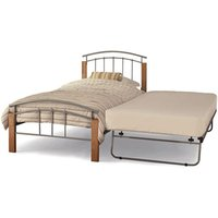 Serene tetras 3-in-1 metal guest bed,beech