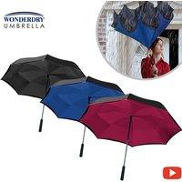 Wonderdry Umbrella - Inverted umbrella