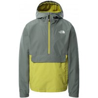 The North Face - Waterproof Fanorak - Waterproof jacket size XL, grey/yellow
