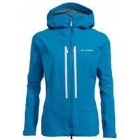Vaude - Women's Shuksan 3L Jacket - Waterproof jacket size 38, blue