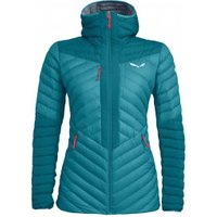 Salewa - Women's Ortles Light 2 Down Hood Jacket - Down jacket size 40, turquoise