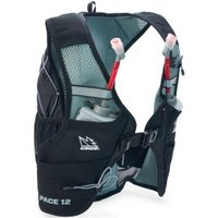 USWE - Pace 12 Running Vest - Running vest size 12 l - S-M, black/grey