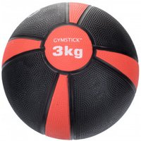 Gymstick - Medizinball - Functional training size 3 kg, black/red