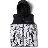 Columbia - Kid's Pike Lake Hooded Vest - Synthetic vest size XXS, grey/black