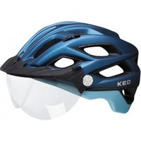 KED - Covis Lite - Bike helmet size M - 52-58 cm, black/blue/grey