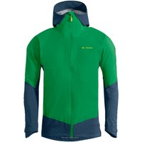 Vaude - Croz 3L Jacket III - Waterproof jacket size XL, green/blue/olive