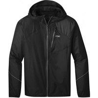 Outdoor Research - Helium Rain Jacket - Waterproof jacket size M, black