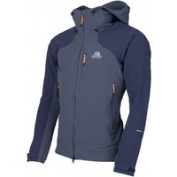 Mountain Equipment - Frontier Hooded Jacket - Softshelljacke Gr S blau/schwarz*