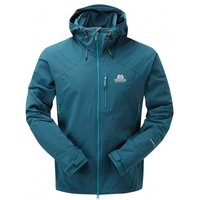 Mountain Equipment - Frontier Hooded Jacket - Softshelljacke Gr L;M;S blau/schwarz;schwarz*