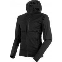 Mammut - Ultimate V So Hooded Jacket - Softshell jacket size XXL, black