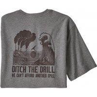 Patagonia - Ditch The Drill Responsibili-Tee - T-shirt size XS, grey/black