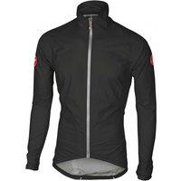 Castelli - Emergency Rain Jacket - Cycling jacket size XL, black