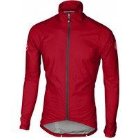 Castelli - Emergency Rain Jacket - Cycling jacket size L, red