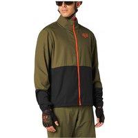 FOX Racing - Ranger Wind Jacket - Cycling jacket size M, olive/black/brown