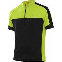 Loffler - Bike Shirt Half-Zip Pace 3.0 - Cycling jersey size 58, black/green