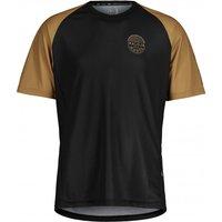 Maloja - StachelbeereM. Multi - Cycling jersey size M, black/brown