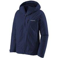 Patagonia - Women's Calcite Jacket - Waterproof jacket size XS, blue/black
