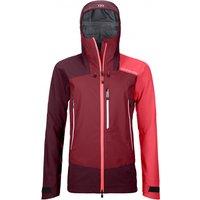 Ortovox - Women's Westalpen 3L Jacket - Waterproof jacket size L, red/purple