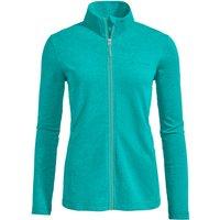 Vaude - Women's Valua Fleece Jacket - Fleece jacket size 38, turquoise