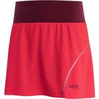 GORE Wear - Women's R7 Skort - Running skirt size 36, red/pink/purple
