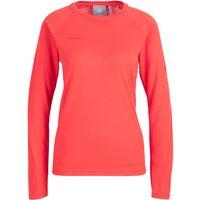 Mammut - Women's Aegility Longsleeve - Sport shirt size S, red