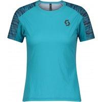 Scott - Women's Shirt Trail Run S/S - Sport shirt size M, turquoise