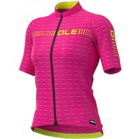 Ale - Women's Green Road Jersey Graphics - Cycling jersey size XL, pink