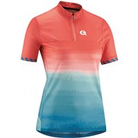 Gonso - Women's Seolane - Cycling jersey size 38, red/turquoise