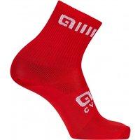 Ale - Strada Q-Skin Socks - Cycling socks size 44/47 - L, red