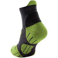 Hirsch Sports - Jona Fussling - Merino socks size 36-37, black/green